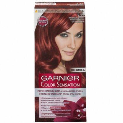 Garnier Color Sensation 6.60 интенсивный рубиновый крем-краска для волос