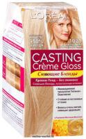 Loreal CASTING Cremе Gloss 1021 светло-светло-русый перламутровый краска-уход для волос