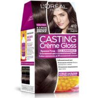 Loreal CASTING Cremе Gloss 412 какао со льдом краска-уход для волос