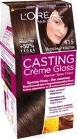 Loreal CASTING Cremе Gloss 415 морозный каштан краска-уход для волос