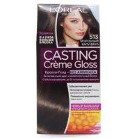 Loreal CASTING Cremе Gloss 513 морозный капучино краска-уход для волос
