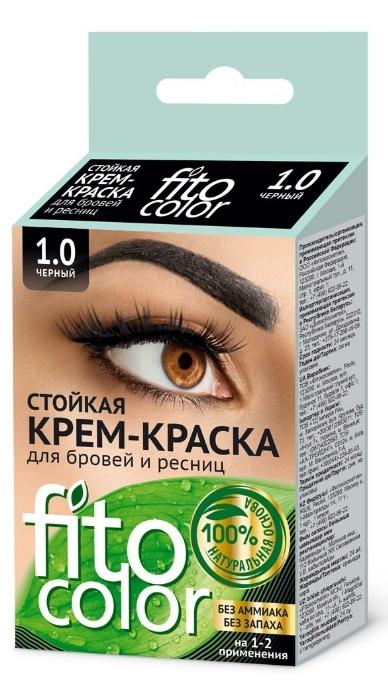 Fitocolor Крем-краска для бровей и ресниц 1