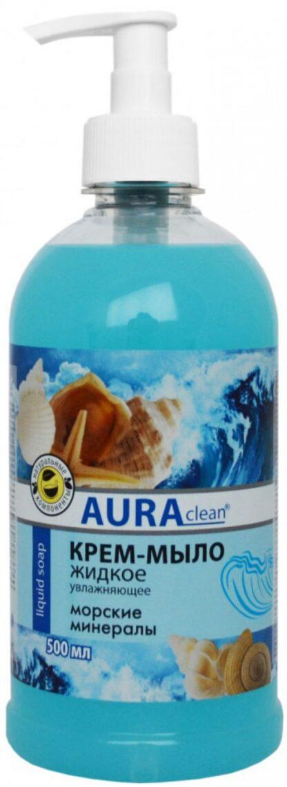 AURAclean морские минералы Увлажняющее жидкое Крем-Мыло 500 мл