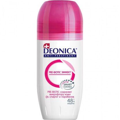 DEONICA Pre-Biotic эффект 48 часов защиты ролик дезодорант 50 мл