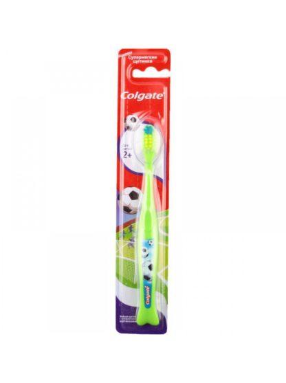 Colgate супермягкие щетинки 2+ детская Зубная щетка
