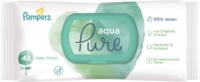 Pampers aqua pure Влажные салфетки  48 шт