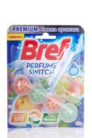 Bref Perfume Switch яблоко+персик Чистящее средство для унитаза 50 г