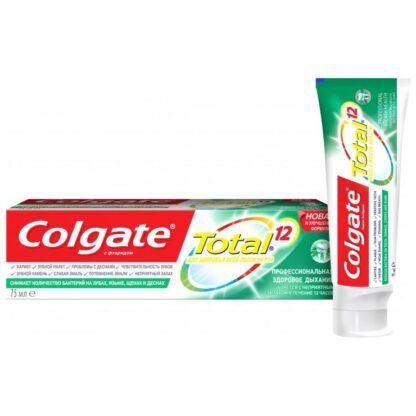 Colgate Total 12 Профессиональная здоровое дыхание Зубная паста 75 мл