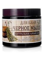 Day Spa Натуральное Алтайское для ухода за волосами и телом Черное мыло для бани 500 мл