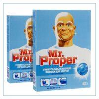 MR PROPER Универсал с отбеливателем Универсальный моющий порошок для уборки 400 гр