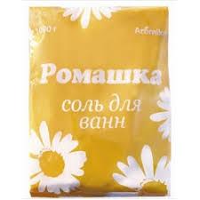 Aromika Ромашка Соль для ванн 1000 гр