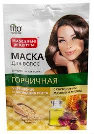 Fito Укрепление и активация роста горчичная маска для волос 30 мл