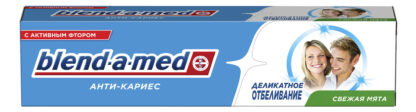 Blend a med деликатное отбеливание анти-кариес Зубная паста 100 мл