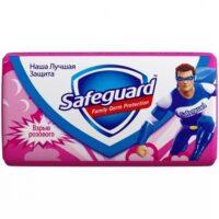 SAFEGUARD Взрыв розового с антибактериальном эффектом туалетное Мыло 90 гр