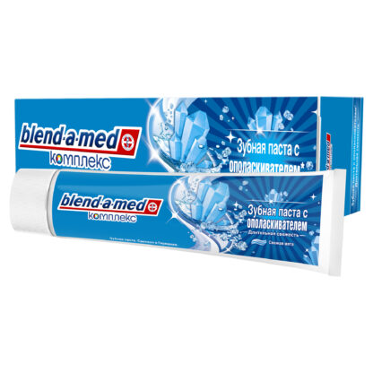 Blend a med Комплекс Свежая мята С ополаскивателем Зубная паста 100 мл