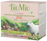 Bio Mio Bio-Color без запаха универсальный экологичный стиральный порошок 1