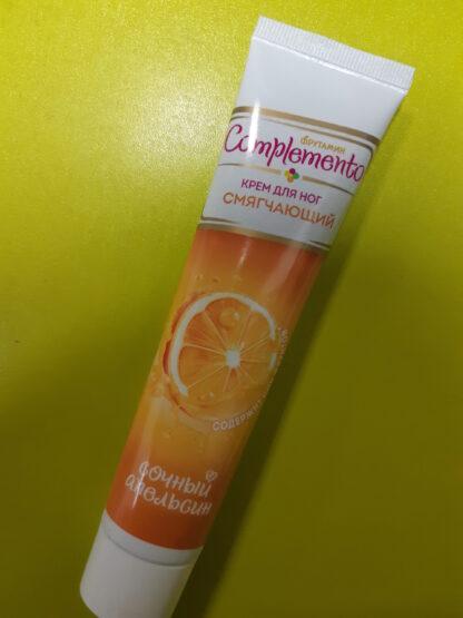 Complemento Сочный апельсин смягчающий крем для ног 60 мл