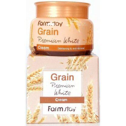Farm Stay с маслом ростков пшеницы осветляющий крем для лица 100 гр