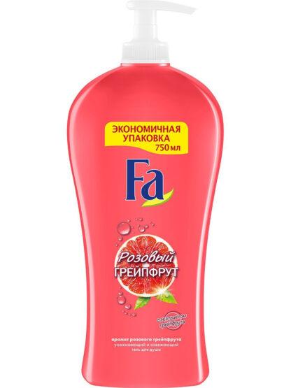 Fа Розовый грейпфрут ухаживающий и освежающий Гель для душа 750 мл