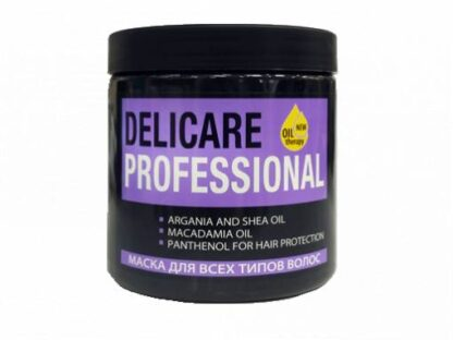 Delicare Professional маска для всех типов волос 500 мл