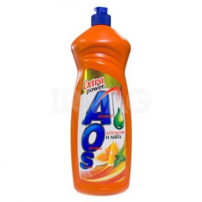 AOS Extra power Апельсин и мята бальзам средство для мытья посуды 900 мл