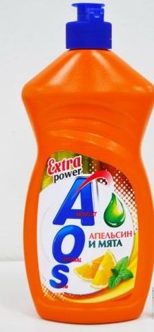 AOS Extra power Апельсин и мята средство для мытья посуды 450 мл