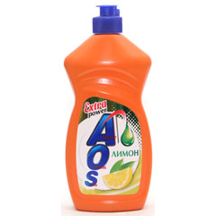 AOS Extra power Лимон средство для мытья посуды 450 мл