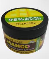 DELICARE Манго Сахарный Скраб для тела 250 мл