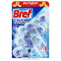 Bref Сила-Актив Океанский бриз Чистящее средство для унитаза 3*50 г