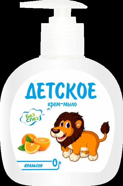 Aromika апельсин детское крем-мыло 200 мл