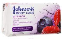 Johnson*s Лесные ягоды Восстанавливающее туалетное мыло 125 гр