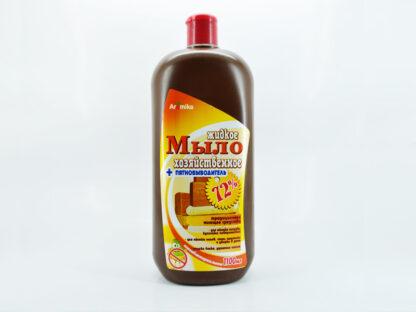 Aromika 72% антибактериальное хозяйственное жидкое мыло 1100 мл