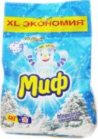 МИФ Морозная Свежесть автомат Порошок 4 кг