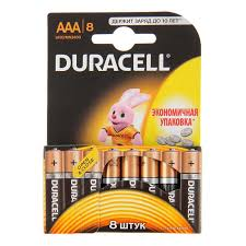 Duracell MN2400 ААА/8 щелочные мизинчиковые батарейки (цена за 1 шт)