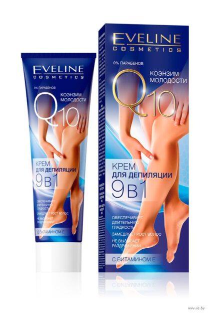 Eveline Cosmetics Q10 Крем для депиляции 9 в 1 100 мл