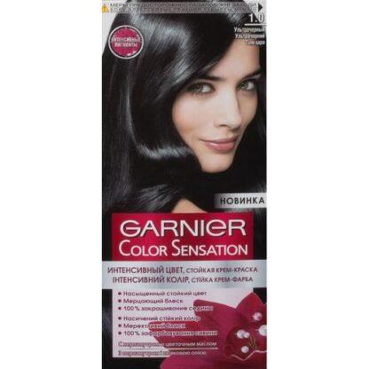 Garnier Color Sensation Крем-краска Ультрачерный 1