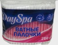 Day Spa в п/э пакете Ватные палочки 200 шт