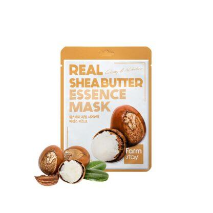 Farm Stay REAL SheaButter с маслом ши тканевая Маска для лица
