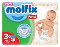 MOLFIX трусики 3 (4 - 9 кг) 26 шт