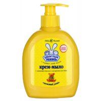 Ушастый Нянь с оливковым маслом и алоэ детское жидкое крем-мыло 300 мл