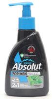 Absolut classic For MEN Лемонграсс и мята жидкое Мыло 250 гр