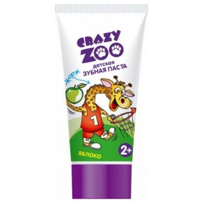 Crazy Zoo Яблоко детская Зубная паста 50 мл