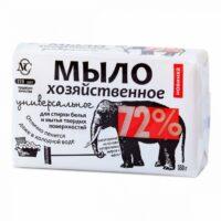 Универсальное 72% хозяйственное мыло 180 гр