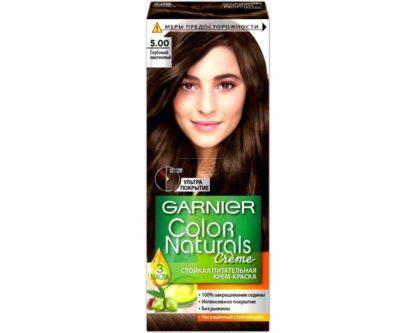 Garnier Color Naturals 5.00 глубокий каштановый крем-краска для волос