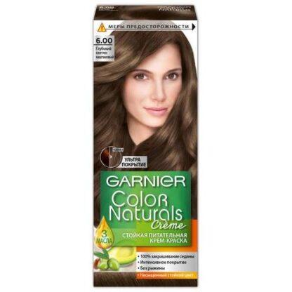 Garnier Color Naturals 6.00 Глубокий светло-каштановый крем-краска для волос
