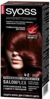 Syoss 4-2 красное дерево крем-краска для волос