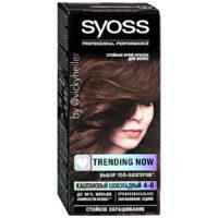 Syoss 4-8 каштановый шоколадный крем-краска для волос