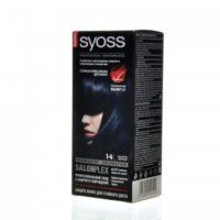 Syoss 1-4 иссиня-черный крем-краска для волос