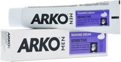 ARКО MEN Shaving cream sensitive для чувствительной кожи Крем для бритья 65 г