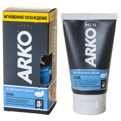 ARКО MEN After shave cream cool Охлаждающий Крем после бритья 50 г